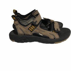 Teva Brown Men's Hiking Sandals Size 10
